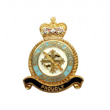 Royal Air Force RAF Station Abingdon Lapel Badge